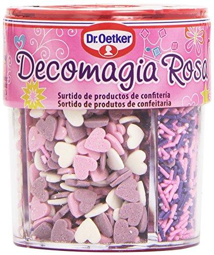 Dr. Oetker - Decomagia Rosa - Surtidos de productos de confitería - 84 g