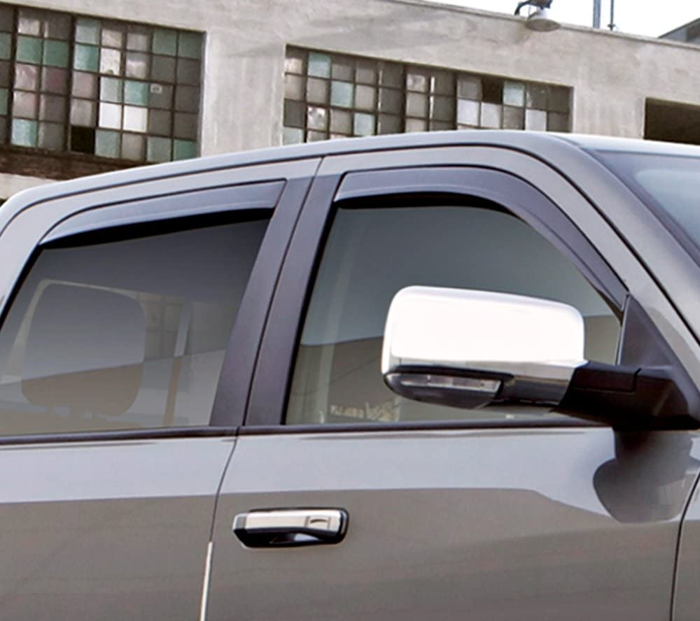 Auto Ventshade 894065 Low Profile Dark Smoke Ventvisor Side Window Deflector 4-Piece Set for 2018-2018 Ford Ecosport