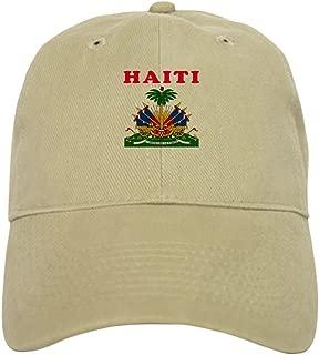 Haiti Coat of Arms Designs Baseball Cap