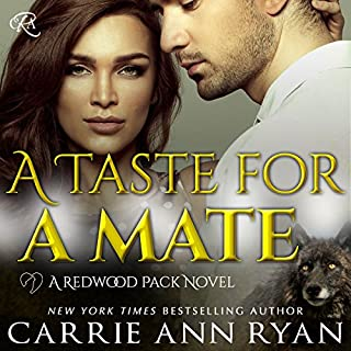A Taste for a Mate audiobook cover art