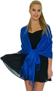 Pashmina Shawls and Wraps for Evening Dresses, Large Soft Pashminas Wedding Shawl