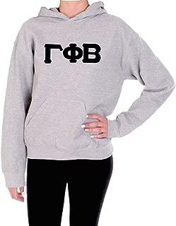 greek stitched letter sweatshirts