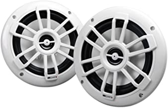 "Best (2) MB QUART NF1-116 6.5"" 80 Watt Marine 2-Way Coaxial White Speakers for Boat Review"