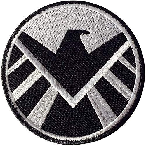 Parche bordado de Marvel Agents of Shield, para coser o planchar