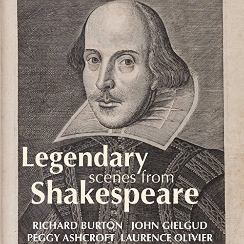 Legendary Scenes from Shakespeare audiobook cover art