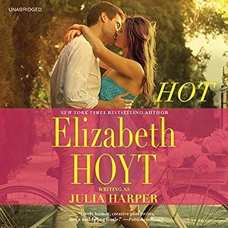 Hot audiobook cover art