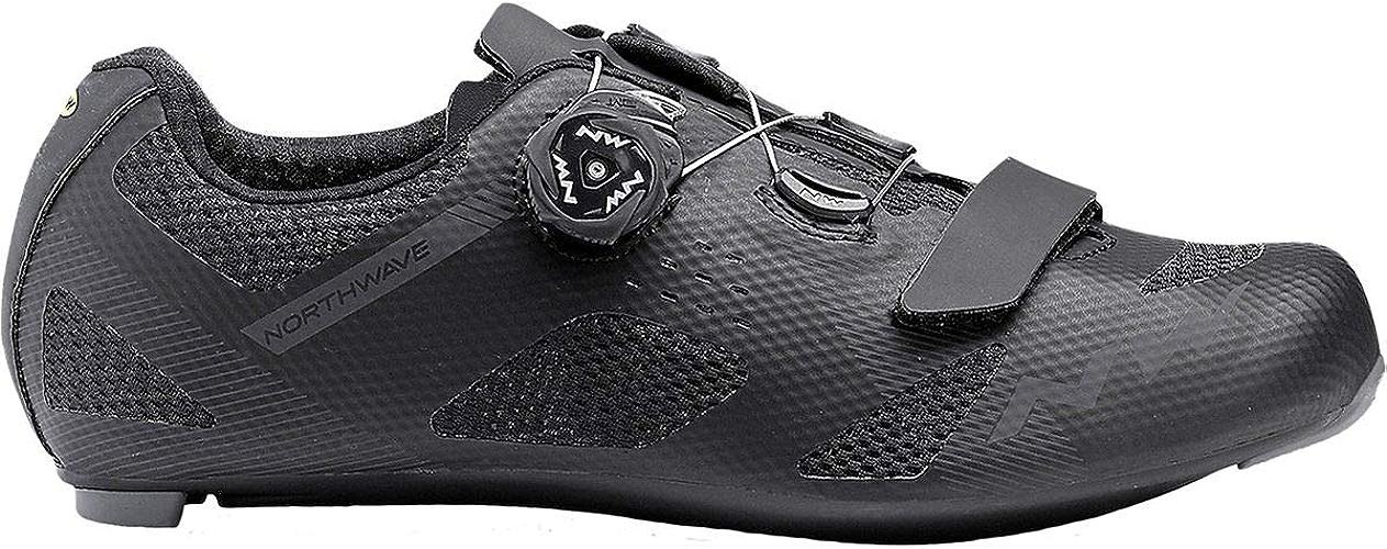 Northwave Storm Chaussures de Cyclisme pour Homme Noir 42.0