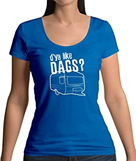 D'ya Like Dags - Womens Scoop Neck T-Shirt - 7 Colours