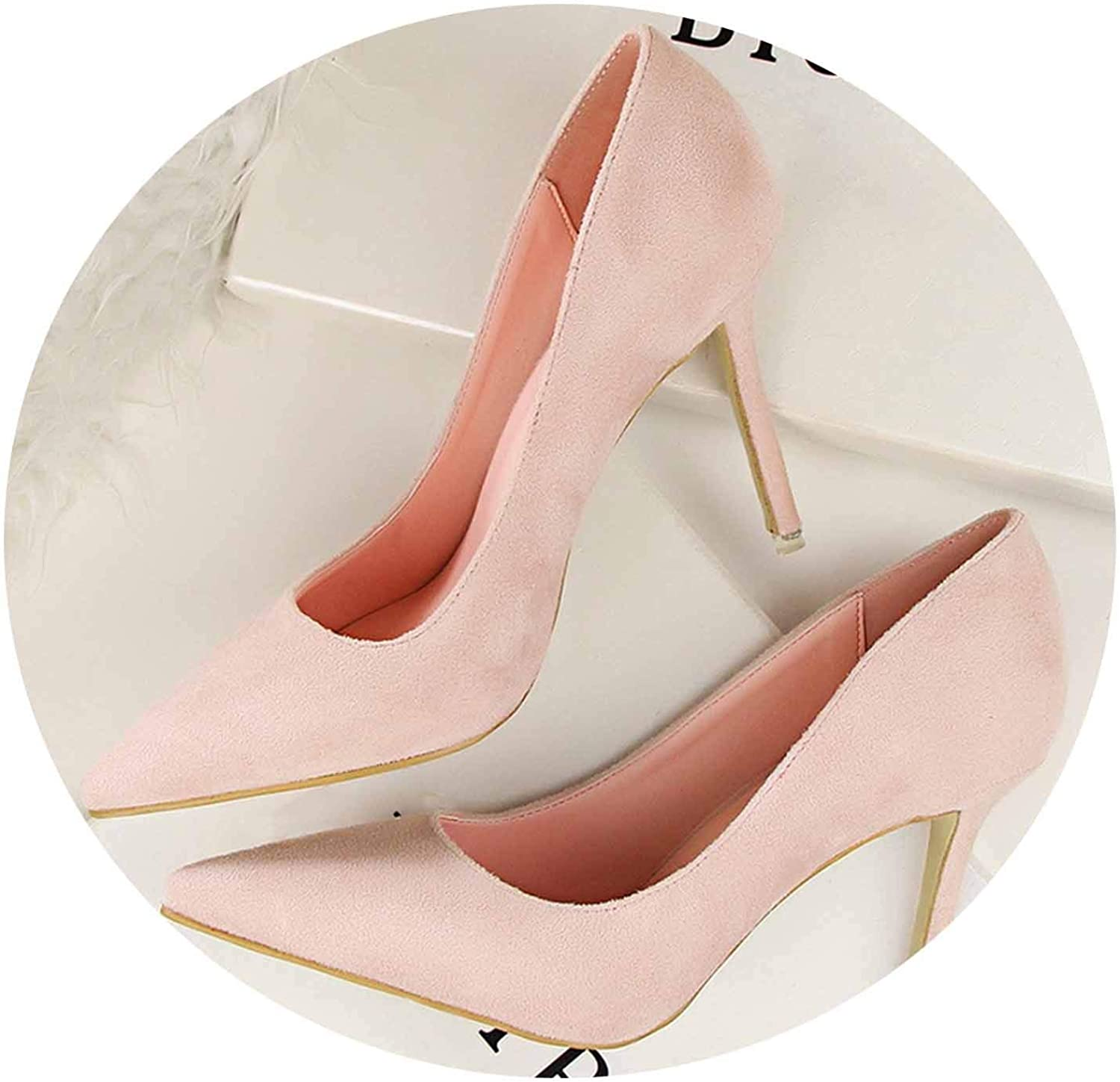 Women Pumps 9cm High Heels for Women shoes Casual Pointed Toe Women Heels shoes