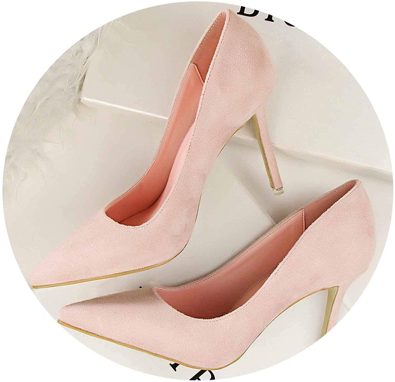 Women Pumps 9cm High Heels for Women shoes Casual Pointed Toe Women Heels shoes