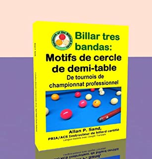 Billar tres bandas - Motifs de cercle de demi-table: De tournois de championnat professionnel (French Edition)