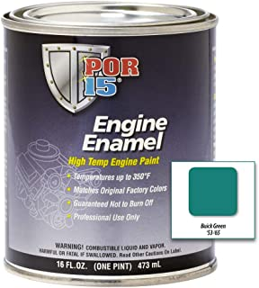 POR-15 42058 Buick Green Engine Enamel - 1 pint