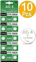 DNA - Pilas de Repuesto para Reloj AG4 LR626 377 SR626 606 (10 Unidades)