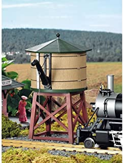 Piko G Scale Train Building River City Water Tower Built-Up 62710