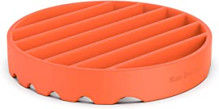 STAN BOUTIQUE Multipurpose Silicone Rack - Pressure Cooker Rack - Nonstick Roasting Rack for Oven - Round Trivet - 7 Inches