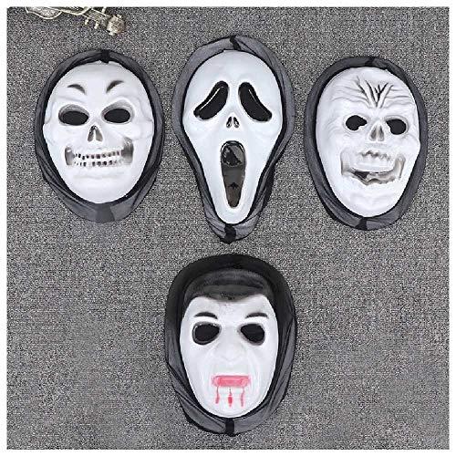 jieyouzahuopu Die Maske des Schreckens, Die Maske des Todes, Die Maske des Todes, Der Schrei, Die Maske des Halloween-Masken-Masken, Masken, Masken des Halloween-Maskenballs.
