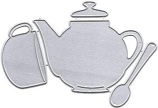 Metal Die Cutting Dies Stencil Metal Mould Template for DIY Scrapbook Album Paper Card Making(Teapot Cutting Dies)
