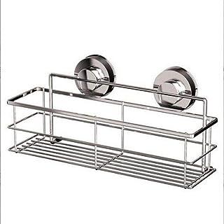 Support d'angle de salle de bain Support de rangement pour salle de bain Plateau de support d'organisateur de douche de su...
