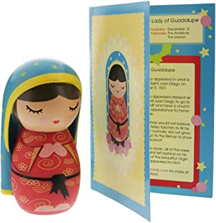 Our Lady of Guadalupe Doll with Story and Prayer Card