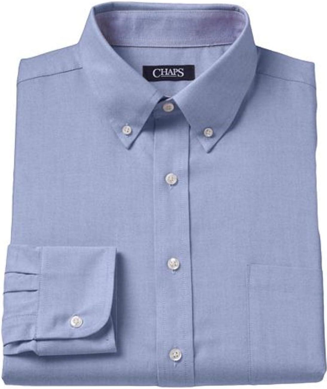 Chaps Men's Performance Classic-Fit Oxford Solid Dress Shirt