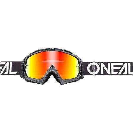 O Neal Fahrrad Motocross Brille Mx Mtb Dh Fr Downhill Freeride Hochwertige 1 2 Mm 3d Linse Für Ultimative Klarheit Uv Schutz B 10 Goggle Erwachsene Unisex Schwarz Weiß One Size Amazon De