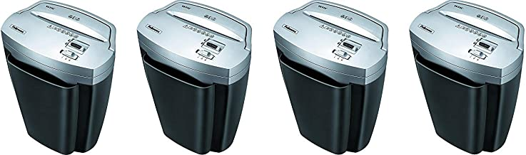 $729 » Fellowes Powershred W11C, 11-Sheet Cross-cut Paper and Credit Card Shredder with Safety Lock (Pack of 4)