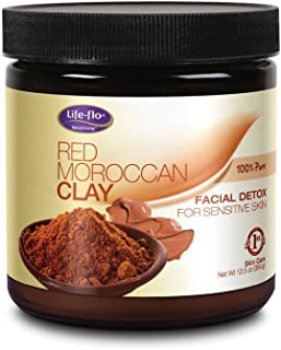 Life-Flo Red Moroccan Clay, 12.5 Ounce