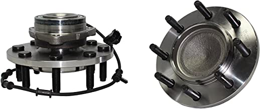 Detroit Axle - 2WD ONLY Brand New (Both) Front Wheel Hub and Bearing Assembly for 2003-05 Ram 2500 Ram 3500 2x4 2WD 8 Lug W/ABS (Pair) 515089 x2