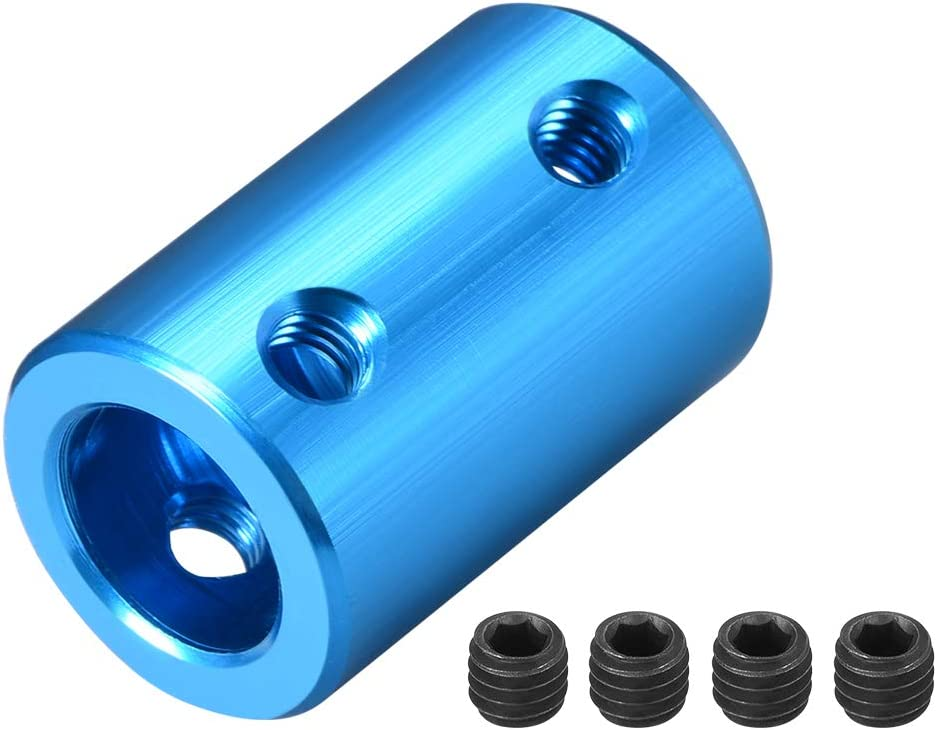 uxcell 10mm to Bore Rigid L25XD16 Screw Set Coupling Alumin Max Wholesale 71% OFF