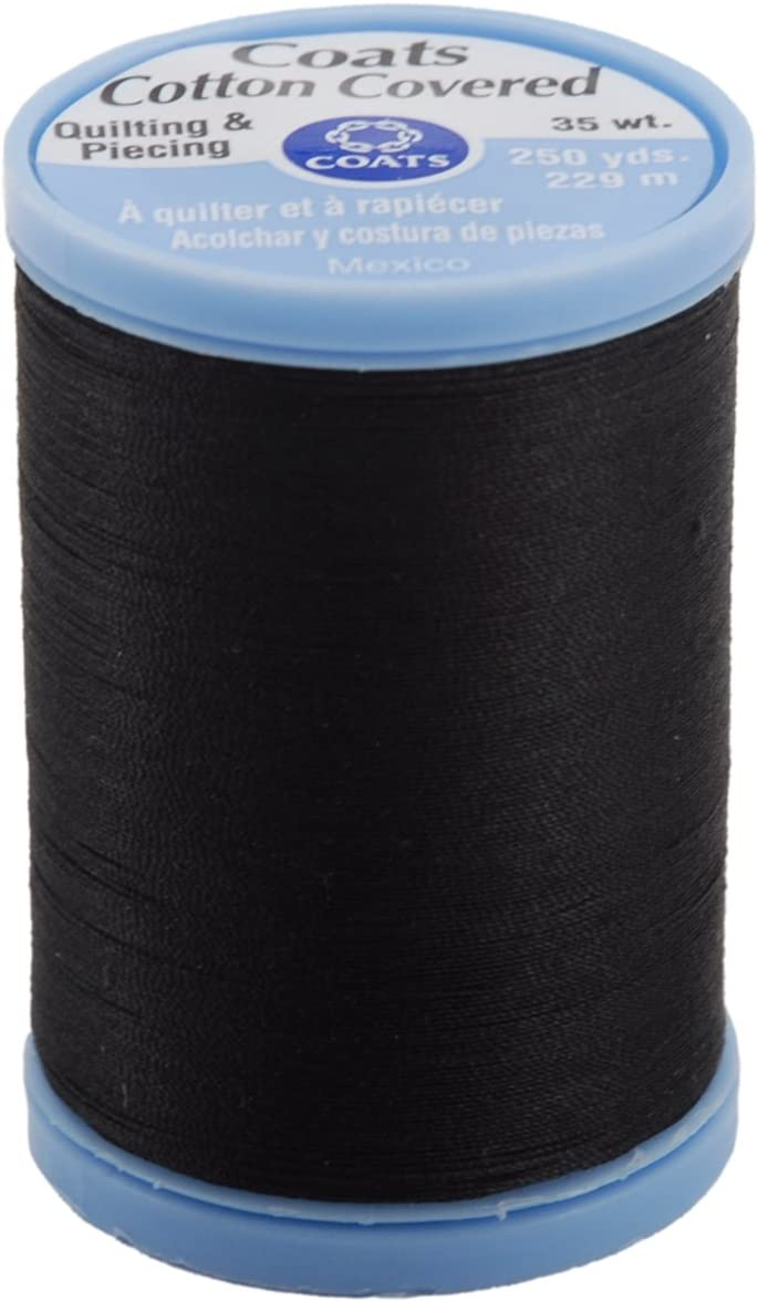 Coats Clark Bargain sale Max 58% OFF S925-900 Cotton Covered Piecing Quilting Threa and