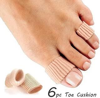 6pc Toe Protector Gel Cushion Comfort Stretchable Elastic Soft Callus & Corn Wrap