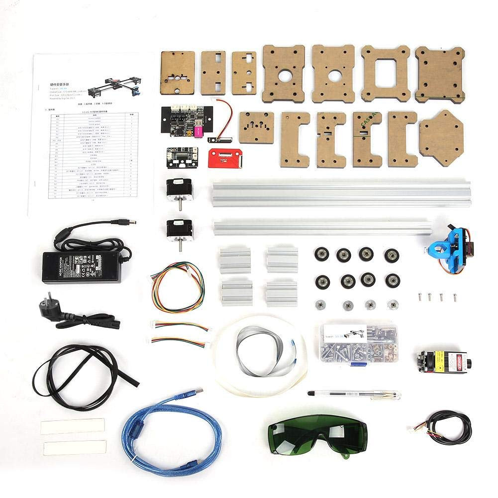 Akozon DIY XY Drawbot - Rotulador de 2 ejes para manualidades, CNC XY Engraver Plotter, 1.00V: Amazon.es: Iluminación