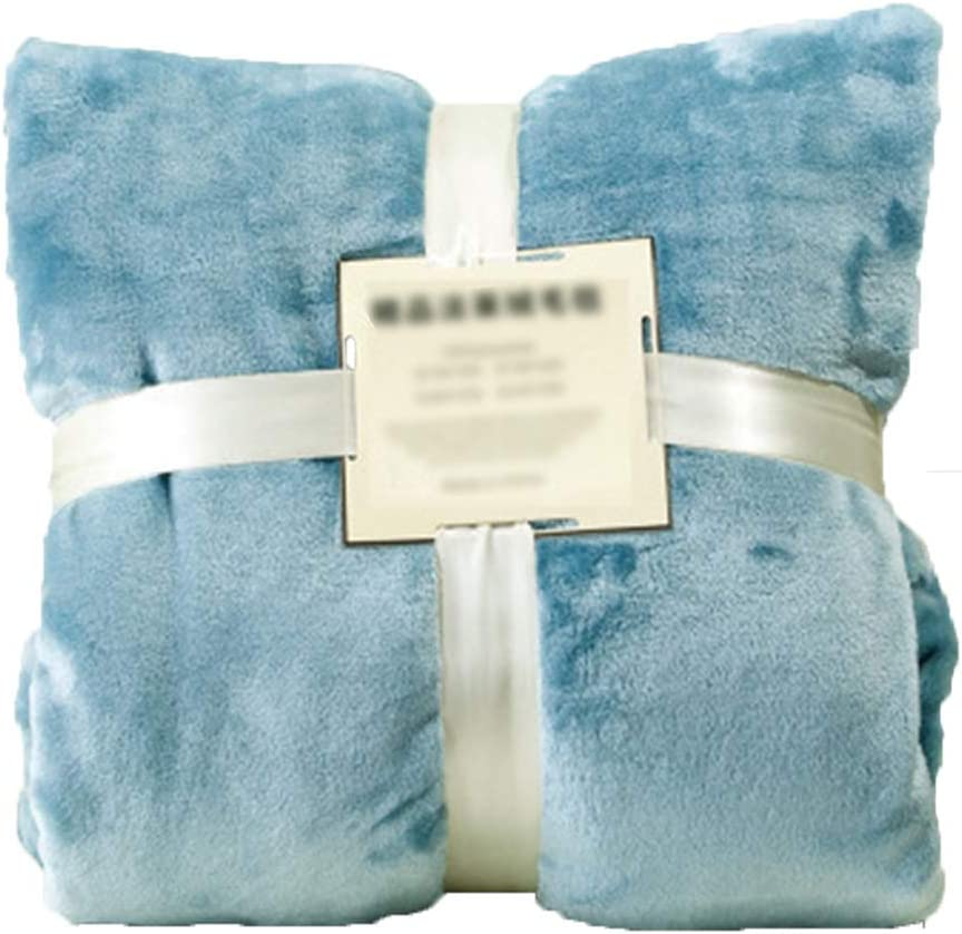 blanket Simple Household Pure Color and Ultra-Cheap 70% OFF Outlet Deals Thickening Winter Autumn
