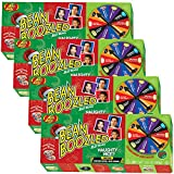 (Set/4) Jelly Belly Bean Boozled Naughty Or Nice Fun Christmas Spinner Game