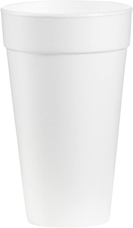Dart 20J16 Foam Drink Cups 20oz Case Of 500