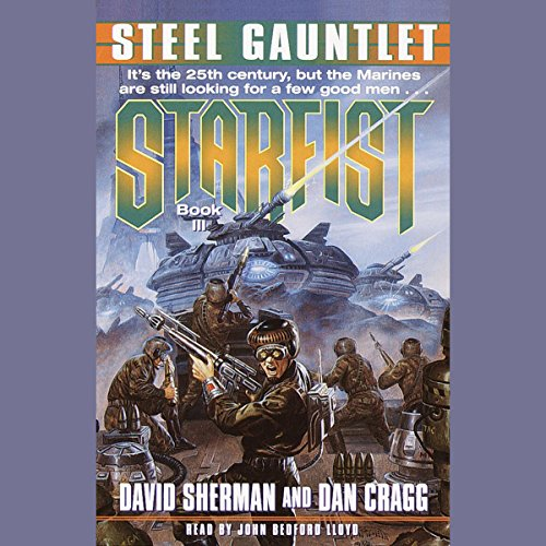 Steel Gauntlet audiobook cover art