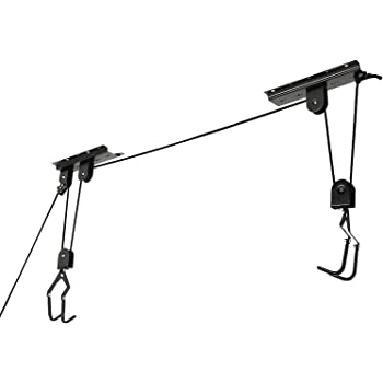 Mountain Bicycle Hoist 1 Set ~ 2 Sets for Option Cartman Garage Utility Ceiling-Mounted Bike Lift 1 Set