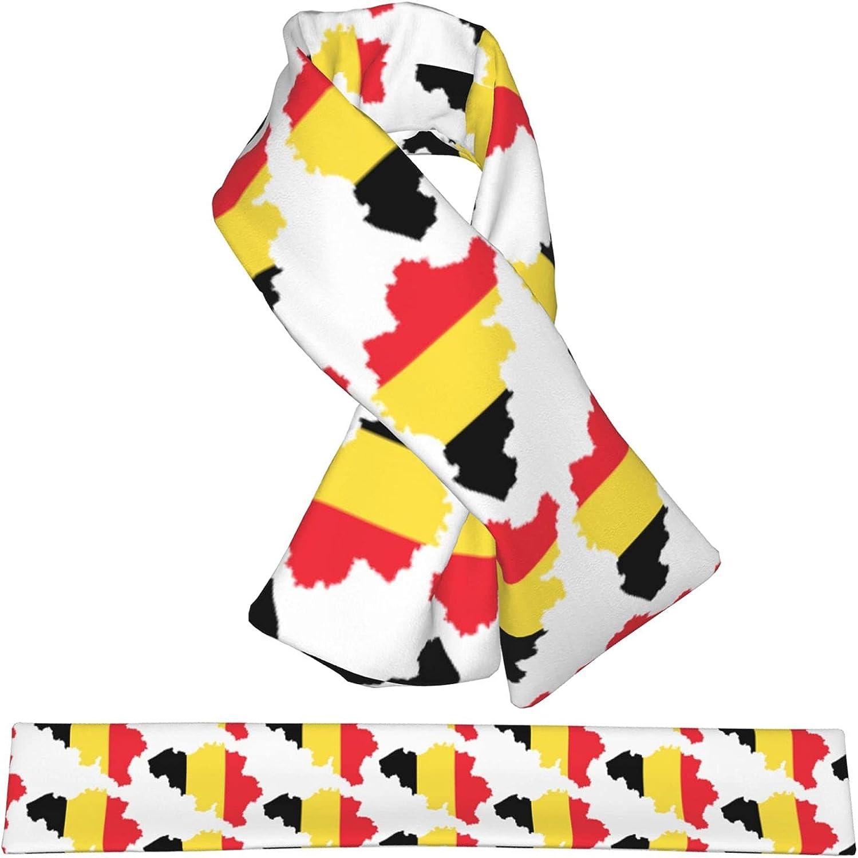 Flag Map Popular Of Belgium Flannel Cross W Brand Cheap Sale Venue Shawl Collar Scarf Wrap Neck