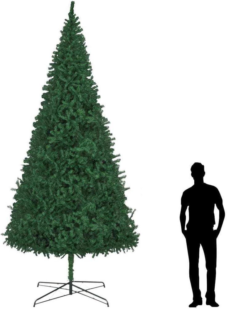 vidaXL Artificial Christmas Tree Synthetic Lifelike Deco Holiday お気に入り 国内在庫