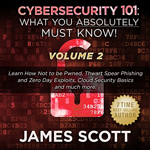 Cybersecurity 101: What You Absolutely Must Know! - Volume 2 audiobook cover art