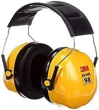 Protetor Auditivo Tipo Concha 3M H9A Amarelo 26 DB NRRsf