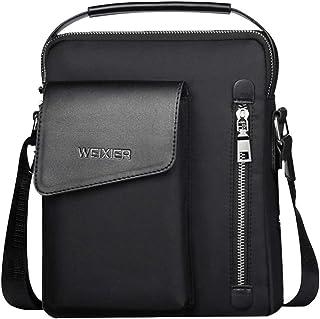 MNTT Men Vintage Shoulder bags Crossbody Bags Fashion Zipper Handbags Messenger Bag Outdoor Handbag