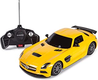 Mercedes R/C 1:18 Mercedes-Benz SLS AMG Car, Yellow