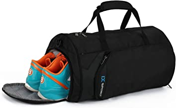 Fox Gym Sports Small Duffel Bag for Men and Women with Shoes Compartment