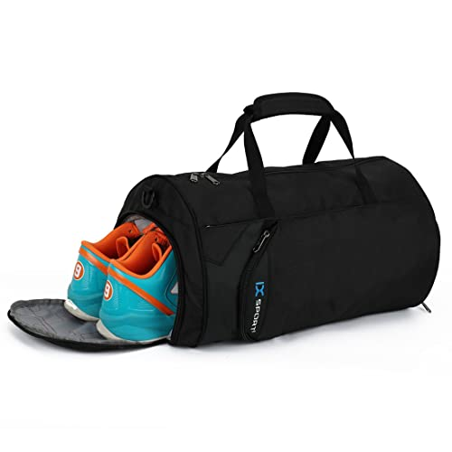 INOXTO Fitness Sport Small Gym Bag with Shoes Compartment Waterproof Travel Duffel  Bag for Women and 415d0c6c7c6cc