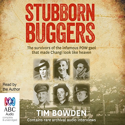 Stubborn Buggers audiobook cover art
