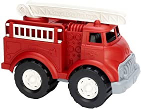 Green Toys Fire Truck - BPA Free, Phthalates Free Imaginative Play Toy for Improving Fine Motor, Gross Motor Skills. Toys ...