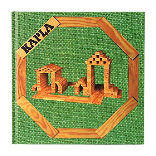 Kapla [ カプラ ] 緑 [ カプラ ] アートブック 本 積み木 ブロック デザインブック [並行輸入品]