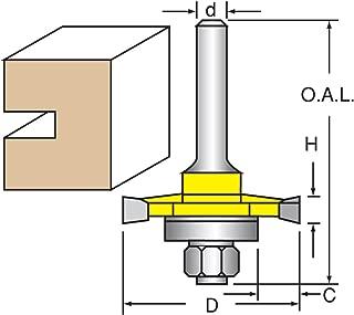Bearings Router Bits 10-pack 1//2 Router Bit Bearing Parts Woodtek 802040