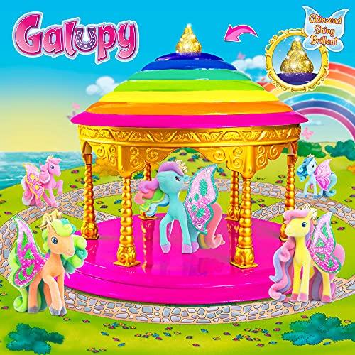 CRAZE Spiel-Set GALUPY Pavillon für Pferde-Sammelfiguren Plüsch 14103